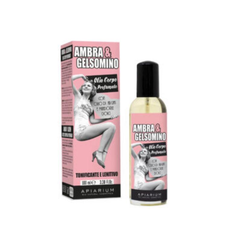 Apiarium - Ambra & Gelsomino Olio corpo profumato