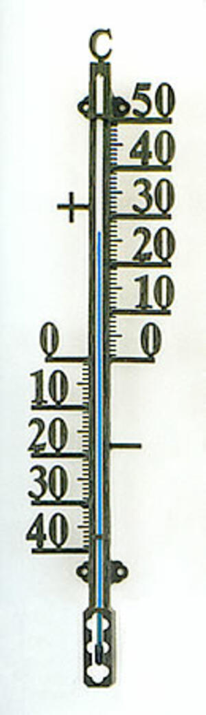 Termometro in Ferro Battuto in Rilievo SATI