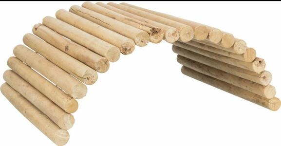 Trixie Ponte in legno flessibile - 69x40 cm.
