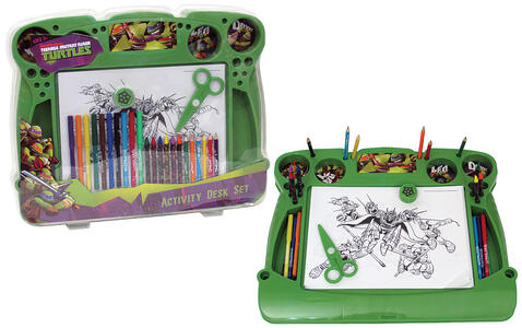 Tartarughe Ninja Active Desk - New World Toys TMT-S13S4020 - 3+
