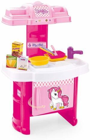 Set da Cucina per Bambini a Tema Unicorno - Dolu 2516 - 3+ anni