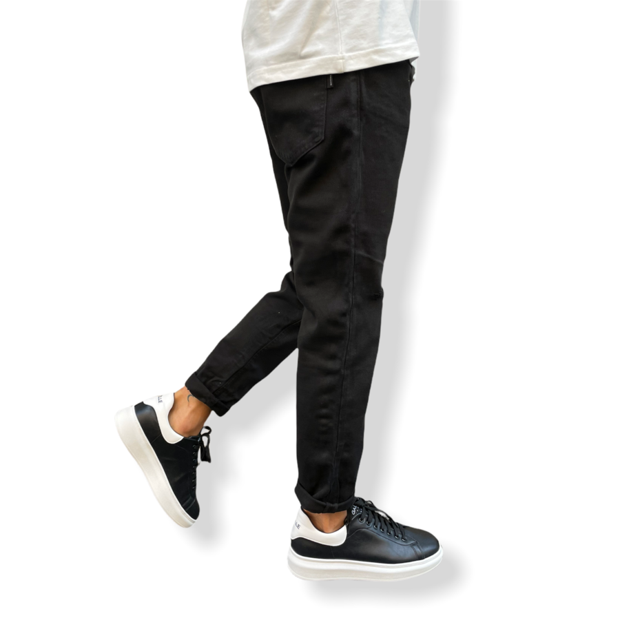 WHY NOT BRAND - JEANS BOSTON COLORED BLACK