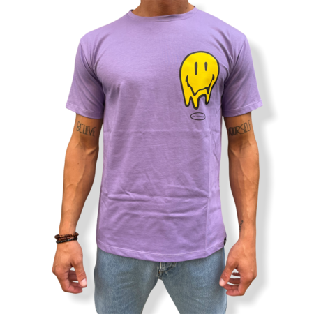 WHY NOT BRAND - T SHIRT LILLA SMILE