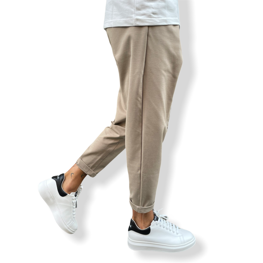 WHY NOT BRAND - PANTALACCIO CAGE BEIGE