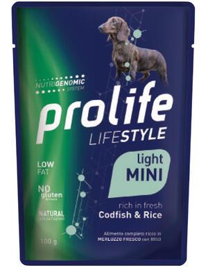 Cane -  Life Style Adult Light Merluzzo 100 gr Prolife