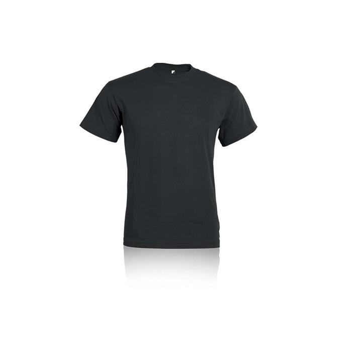 T-shirt nera mezza manica ALE PM330