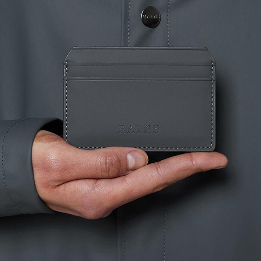Rains Card Holder - Slate