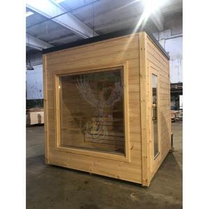 Office Shop 20 Coibentata in legno di pino nordico 2,30 x 2,30 - 142mm