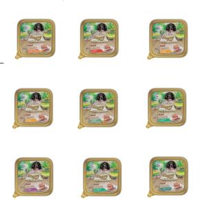 24 Vaschette Da 150g Stuzzy Pate Cibo Umido Per Cani Agnello Pollo Trippa Vitello Manzo