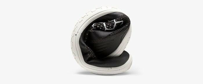 Vivobarefoot Primus  Racer Knit Donna, Obsidian