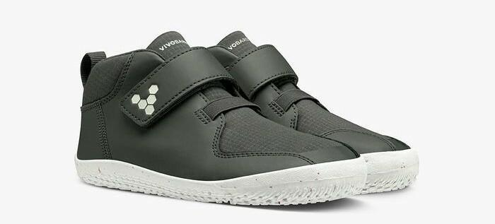Vivobarefoot Primus Bootie II All Weather Kids, Charcoal
