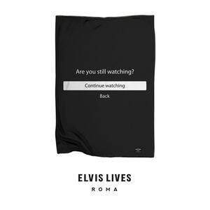 Elvis Lives Plaid - Binge Watching