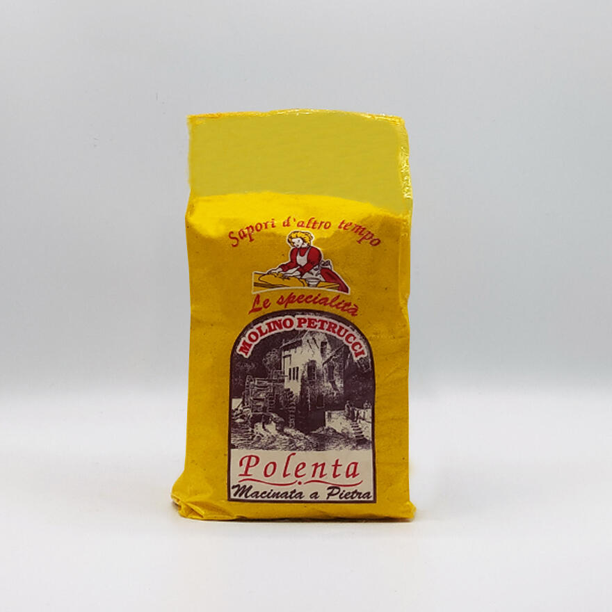Farina di mais per polenta macinata a pietra