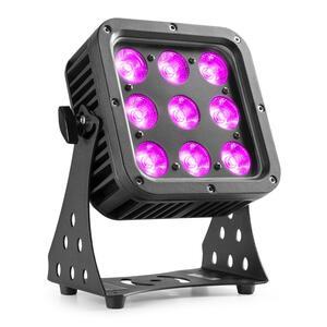 BeamZ - Star-Color72 LED Flood Light 9x 8W IP65 RGBW