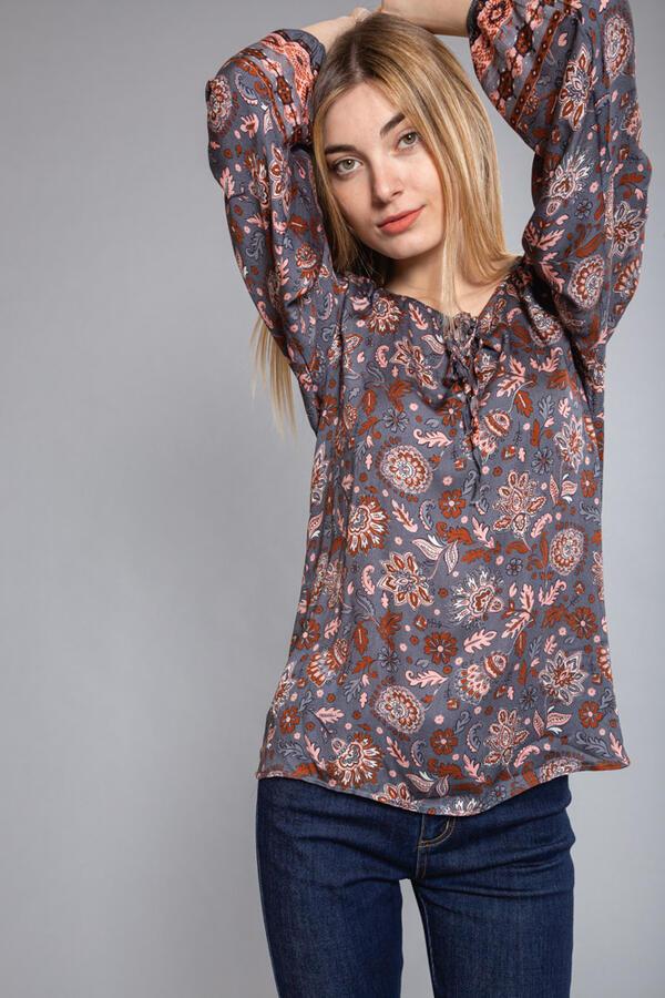 MIMi' MUA' FIRENZE blusa fantasia cashmere ubud