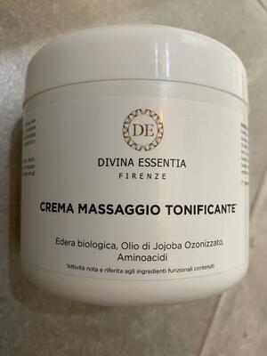 Crema massaggio Tonificante con Edera bio