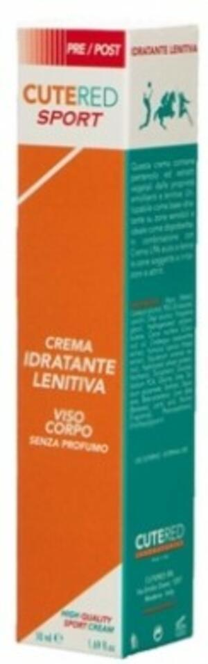 Crema Idratante Lenitiva Cutered Sport 50gr