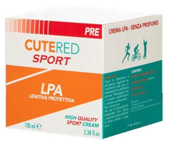 Crema Lenitiva Protettiva Cutered Sport 100 gr