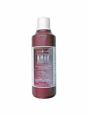 LH Iodio 7,5 Disinfettante Rosso 1LT