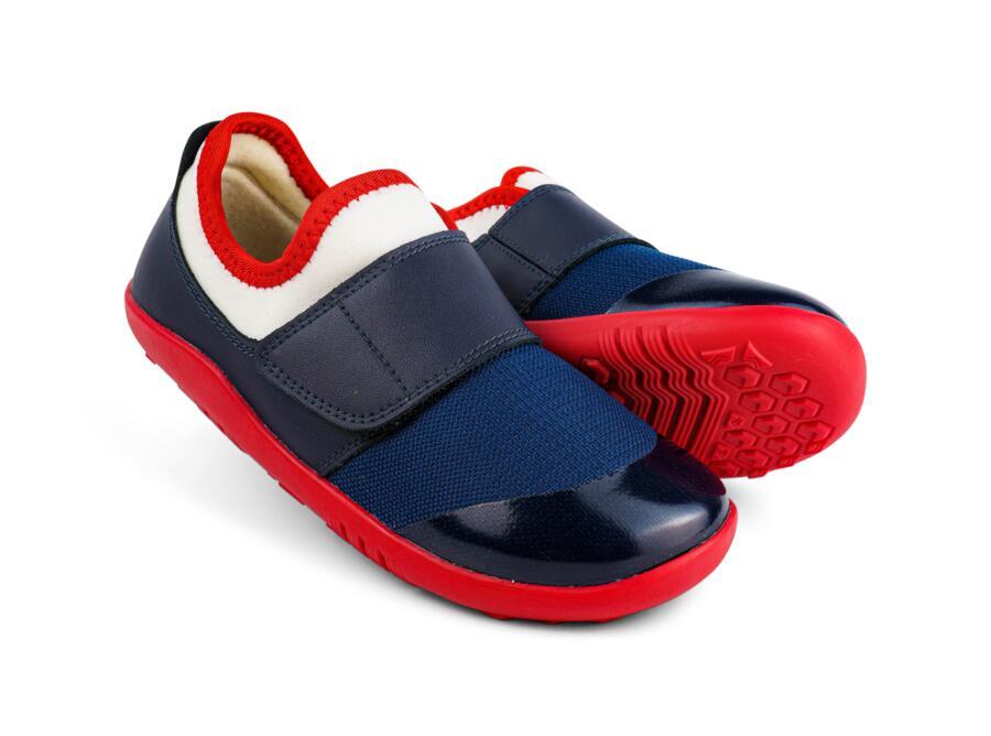 Bobux - I-Walk - Dimension II -  Navy + Red