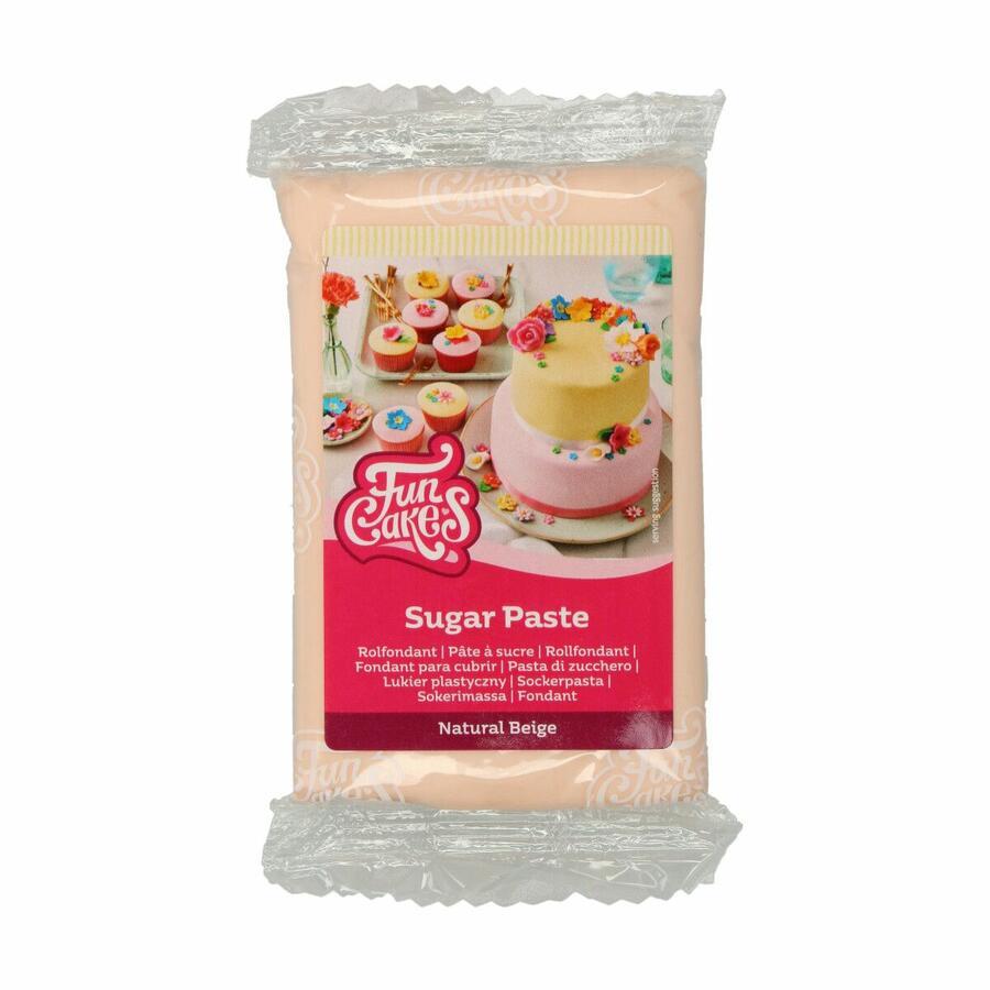 Pasta di zucchero FunCakes beige, rosa pelle 250 gr