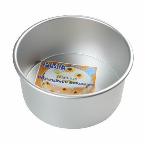 tortiera professionale anodizzata alta cm 10 alluminio, diametro 25 PME
