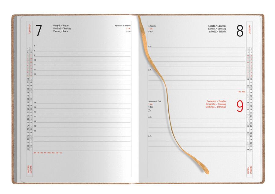 Agenda Giornaliera Eco 15x21 Personalizzata PB358 da 20 pz