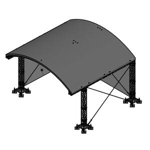 Milos MR1 Roof System incl. B1 canopy