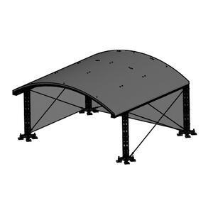 Milos MR1 Roof System incl. B1 canopy 2