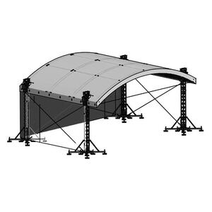 Milos MR1T Roof System incl. B1 canopy