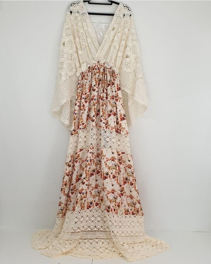 Destiny MATERNITY BOHO DRESS