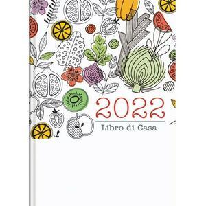 Agenda giornaliera 12 mesi - 14,5x20,5 cm - interno fisso - copertina fantasia