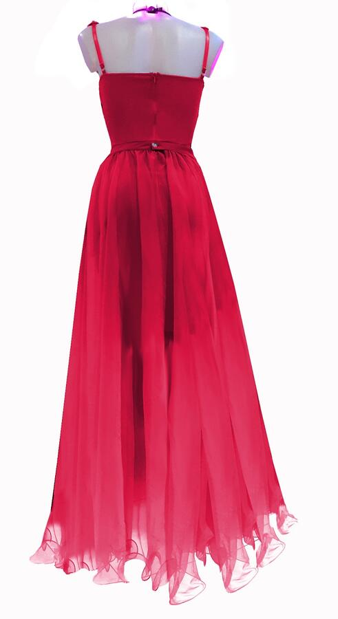 0748 2 IN 1 TUBE DRESS WITH SEPARATE TULLE SKIRT