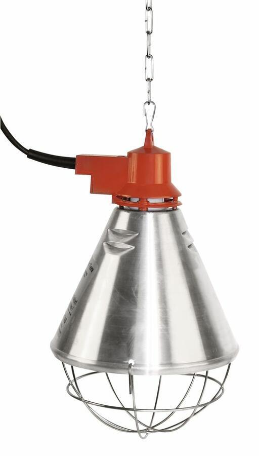 Riflettore per irradiazione del calore infrarossi PROFESSIONALE con 2,5 m cavo e interuttore 3 posizioni