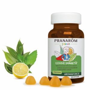 Pranarom -Gomme immunità Aromaforce junior bio