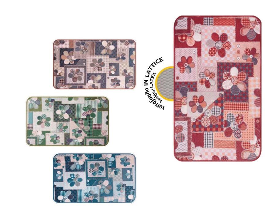 Tappeto Cucina mod. Chalet Vip Fantasia Floreale 54x140 EMMEVI