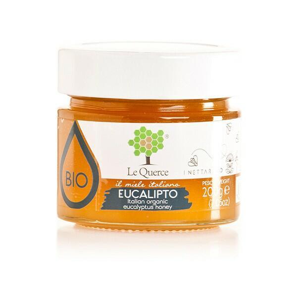 Le querce - Miele di eucalipto bio 400g