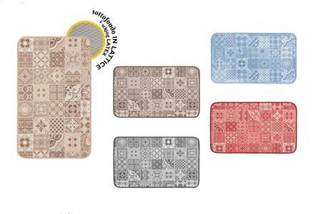 Tappeto Cucina mod. Chalet Vip Fantasia Romboidale 54x140 EMMEVI