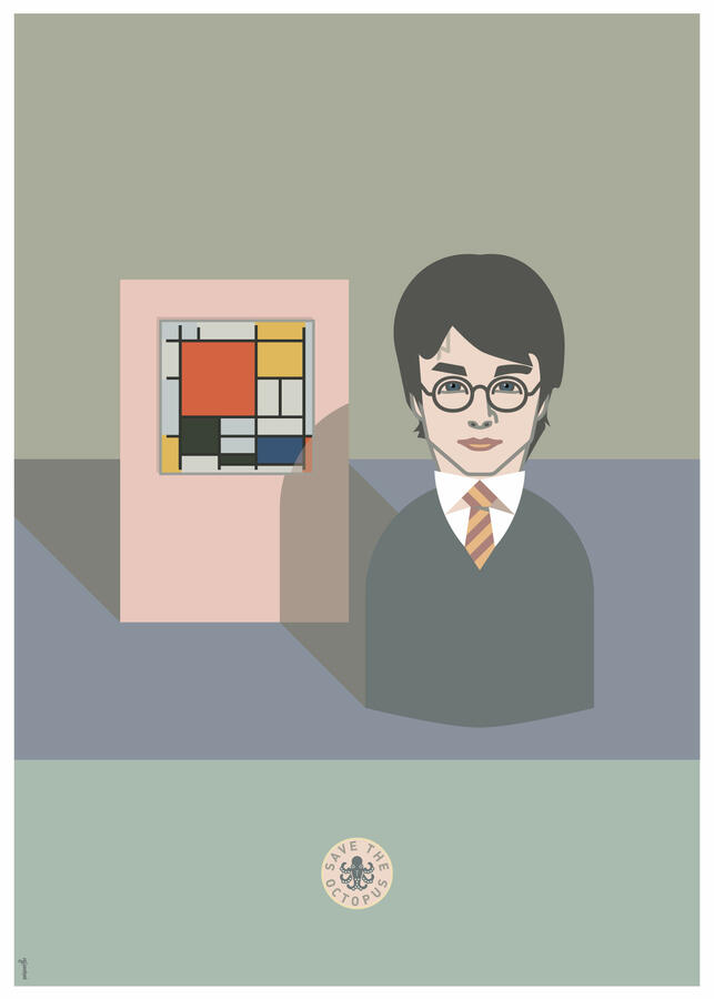 Potter in Mondrian