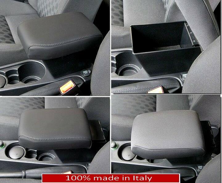 Adjustable armrest with storage for Land Rover Freelander 2 (2007-2012)
