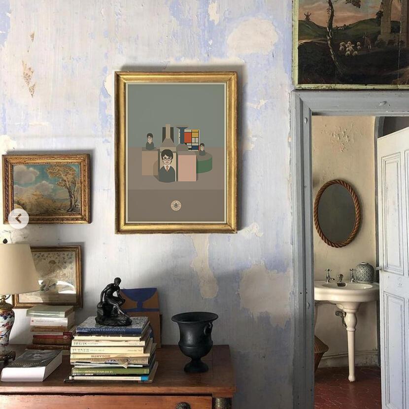 Morandi - Mondrian - Potter