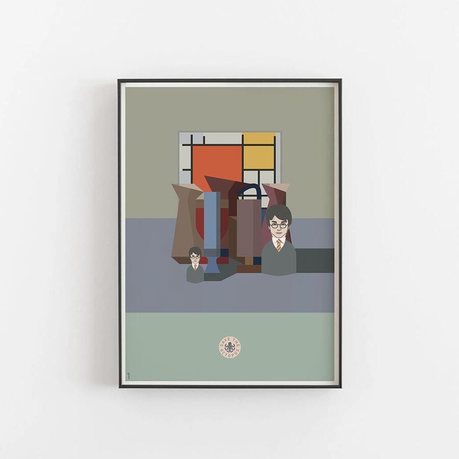 Harry Mondrian in Morandi