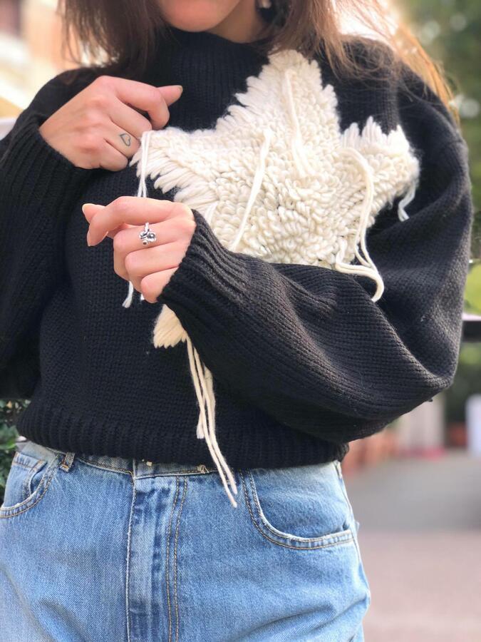 Maglia in lana Twinset con decorazione