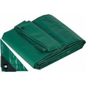 Copia di Telo Telone Occhiellato 10 x 6 mt Antistrappo Impermeabile colore Verde Papillon 200 gr / MQ Copripiscina invernale