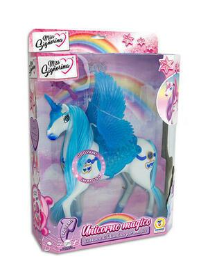 Unicorno Magico con luci e suoni - Miss Signorina 66909 - 3+ anni