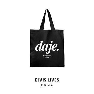 Elvis Lives Shopper Daje Black