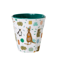 Bicchiere small in melamina - Party Animal - Verde
