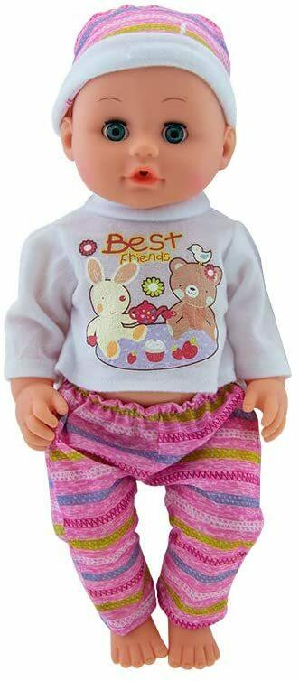 Bambola con passeggino - Baby Teo 66040 - 3+