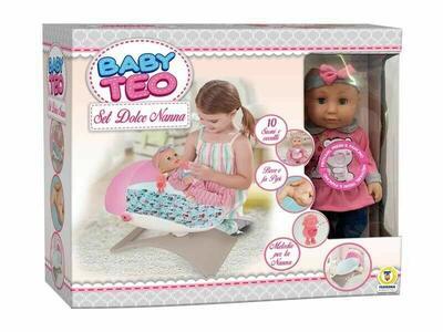 Bambola Set Dolce Nanna - Baby Teo 66688 - 3+