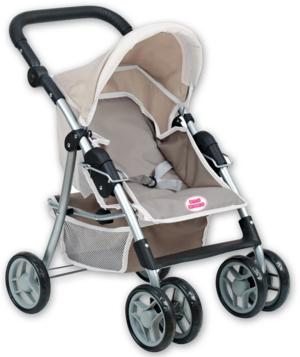Passeggino reclinabile in metallo - Baby Teo 74168 - 3+